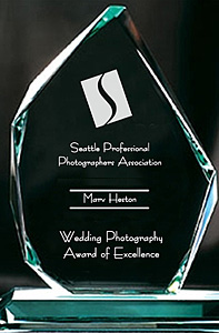 Photography Award for Wedding Photography